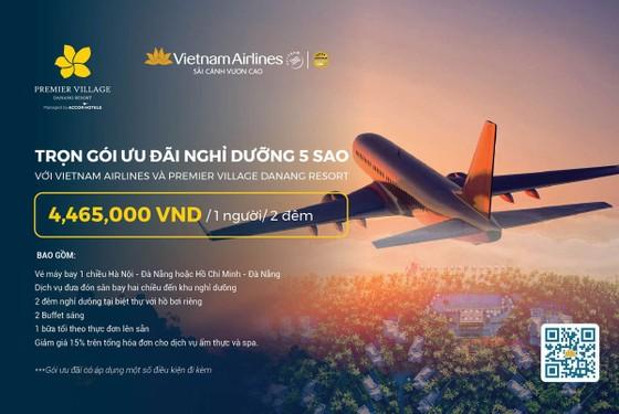 Combo vé máy bay Vietnam Airlines và 2 đêm nghỉ dưỡng tại Premier Village Danang Resort 5 sao  ảnh 1