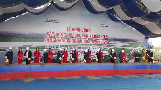 Khởi công xây dựng Nhà ga hành khách T2 - Cảng hàng không quốc tế Phú Bài ảnh 1