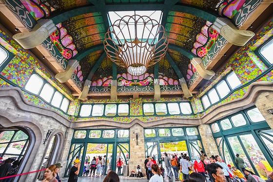 Những góc chụp đẹp mê mẩn ở Nhà ga cáp treo lớn nhất thế giới tại Tây Ninh ảnh 6