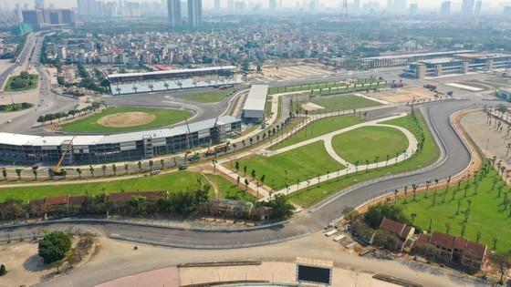 Đường đua F1 tại Hà Nội đang hoàn thành