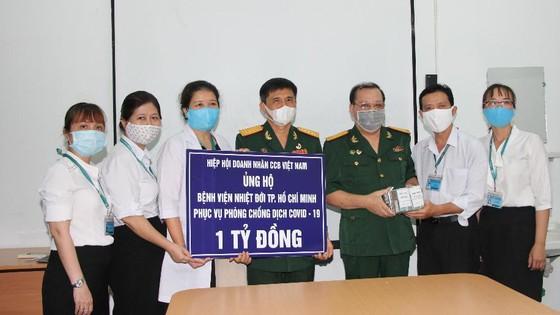 Hiệp hội Doanh nhân Cựu chiến binh Việt Nam đồng hành cùng cả nước chống dịch Covid-19 ảnh 1