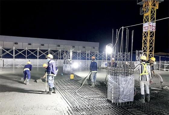 Công trình COBI CIF đổ thành công khối bê tông sàn 2.000m3 ảnh 1