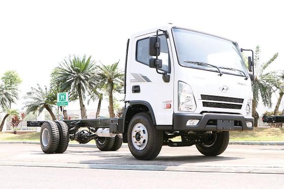 Hyundai Mighty Ex8 GT chính thức ra mắt tại Việt Nam ảnh 1