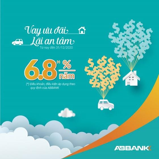 ABBANK tiếp tục giảm lãi suất gói vay cá nhân xuống còn từ 6,8%/năm  ảnh 1