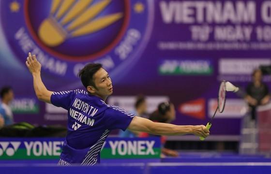 Tay vợt số 1 cầu lông Việt Nam Nguyễn Tiến Minh. Ảnh: DŨNG PHƯƠNG