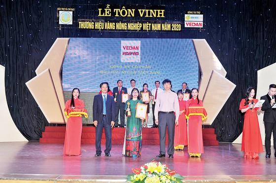 Vedan Việt Nam lần thứ 5 liên tiếp được tôn vinh 'Thương hiệu vàng nông nghiệp Việt Nam' ảnh 1