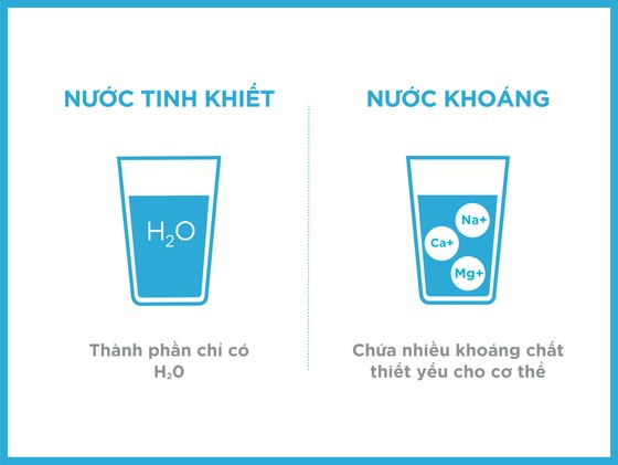 Tại sao cần phân biệt nước khoáng thiên nhiên và nước tinh khiết? ảnh 5