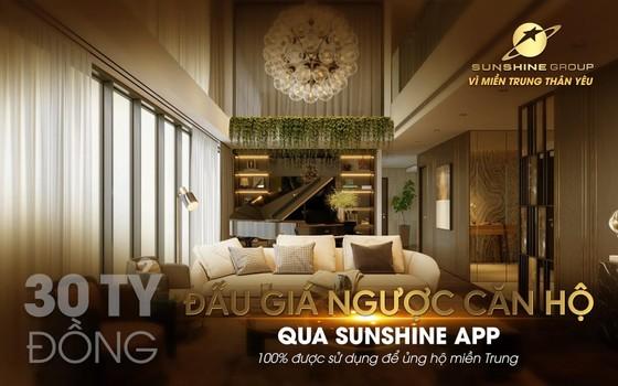 Đấu giá từ thiện qua Sunshine App - Sunshine Group ủng hộ 30 tỷ 'Vì miền Trung thân yêu' ảnh 2