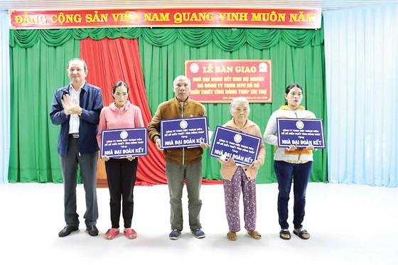 Lễ bàn giao Nhà Đại Đoàn Kết tại huyện Đơn Dương, tỉnh Lâm Đồng ảnh 1