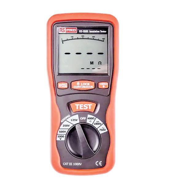 RS Components lưu kho số lượng lớn các thiết bị T&M cầm tay RS PRO ảnh 1