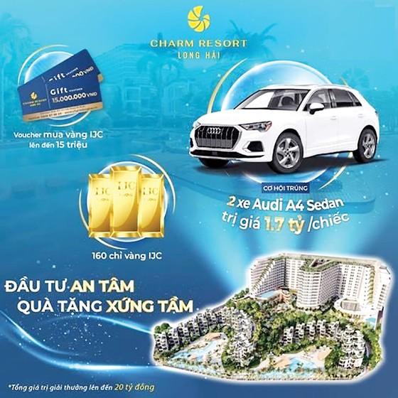 Chi 20 tỷ trong ngày mở bán dự án nghỉ dưỡng Charm Long Hải resort ảnh 1