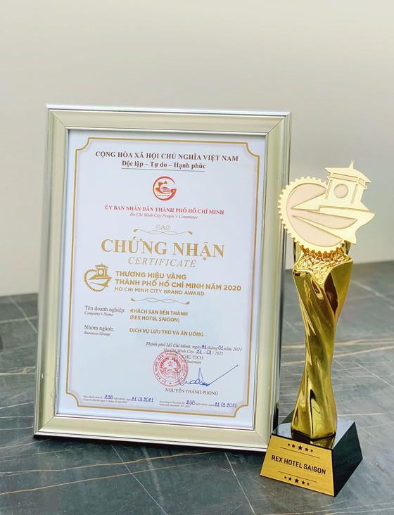 Rex Hotel Saigon được bình chọn nhận Giải thưởng Thương Hiệu Vàng TPHCM năm 2020 ảnh 4