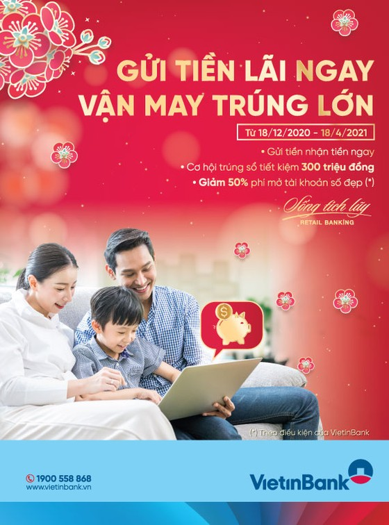 Đón Xuân Tân Sửu nhận muôn vàn điều may cùng VietinBank ảnh 1