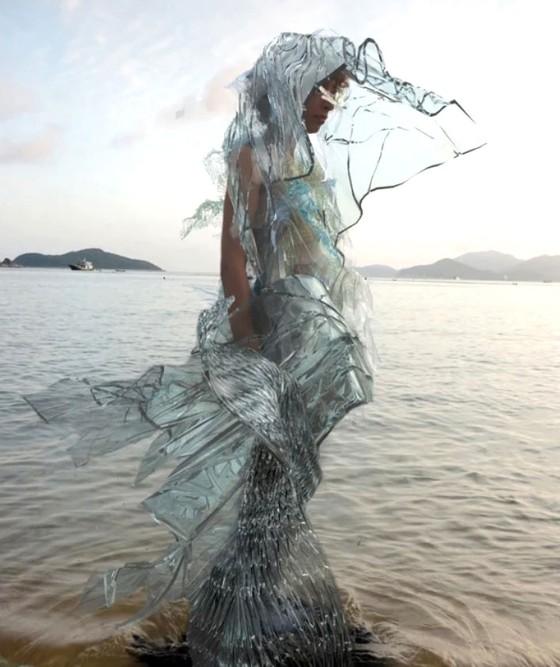 Thời trang từ tảo  ảnh 1