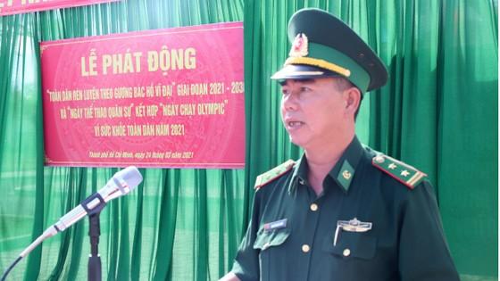 Đồn Biên phòng Cần Thạnh tổ chức 'Ngày chạy thể thao quân sự' 2021 ảnh 1