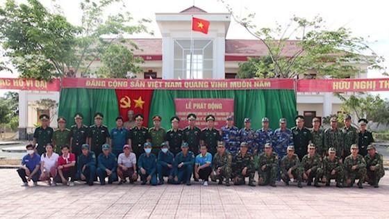 Đồn Biên phòng Cần Thạnh tổ chức 'Ngày chạy thể thao quân sự' 2021 ảnh 6