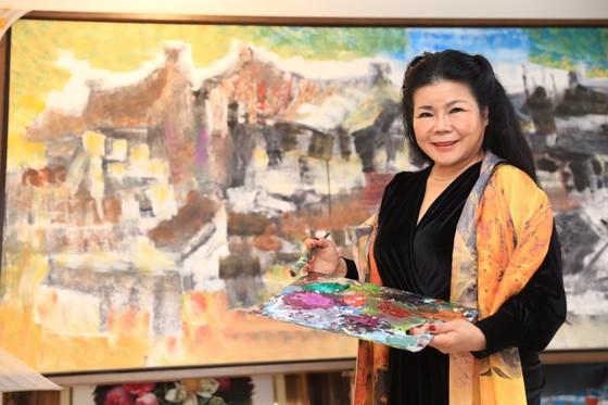 Triển lãm tranh 'Memories of home land'- 'Kỷ niệm hương quê' của họa sĩ Văn Dương Thành  ảnh 2