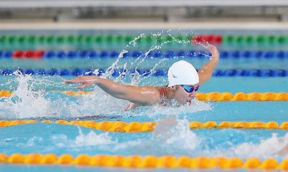 Nguyễn Thị Ánh Viên là động lực cho VĐV trẻ bơi lội Việt Nam vươn lên. Ảnh: DŨNG PHƯƠNG
