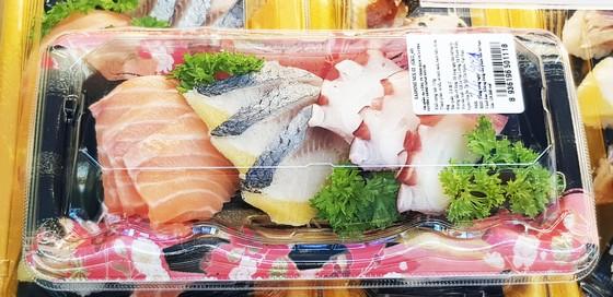 Satramart Siêu thị Sài Gòn đưa vào hoạt động quầy sushi tự chọn ảnh 1