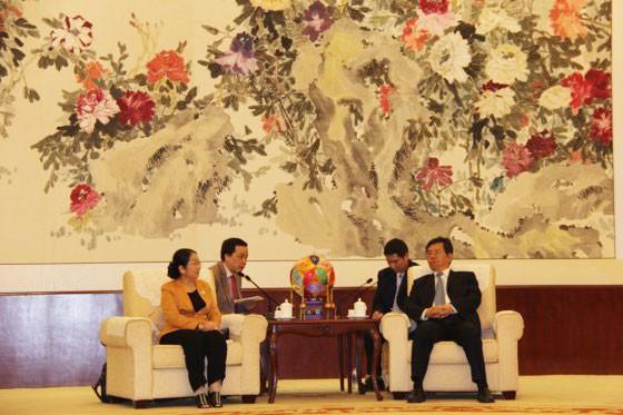 TPHCM mong muốn tăng cường hợp tác với tỉnh Quảng Tây - Trung Quốc   ảnh 1