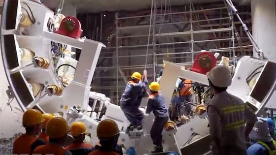 Hoàn thành hơn 40% khối lượng thi công tuyến metro số 1 Bến Thành - Suối Tiên ảnh 2