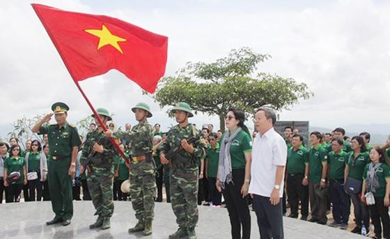 Nhiều hoạt động hướng về biên cương Tổ quốc tại huyện Ngọc Hồi, tỉnh Kon Tum  ảnh 1