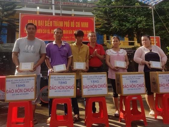 Đoàn đại biểu TPHCM tặng hệ thống lọc nước cho cán bộ, chiến sĩ đảo Hòn Chuối ảnh 1