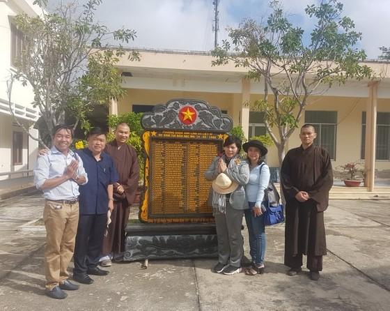 Đặt bia tưởng niệm 64 liệt sĩ Gạc Ma tại đảo Nam Yết, Trường Sa ảnh 2