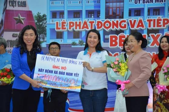 Hơn 11 tỷ đồng ủng hộ xây dựng bệnh xá trên đảo Nam Yết, huyện Trường Sa ảnh 1