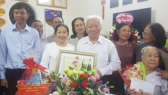 Lãnh đạo TPHCM chúc thọ các cụ cao niên tiêu biểu   ảnh 2