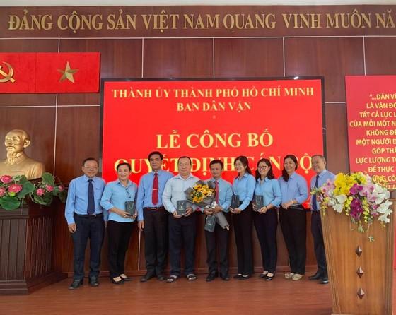 Thí sinh Phan Lê Vũ trúng tuyển chức danh trưởng phòng thuộc Ban Dân vận Thành ủy TPHCM ảnh 1