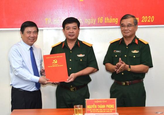 Kiện toàn nhân sự Ban Chấp hành, Ban Thường vụ Đảng ủy Quân sự TPHCM       ảnh 1
