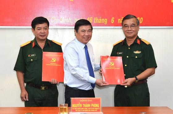 Kiện toàn nhân sự Ban Chấp hành, Ban Thường vụ Đảng ủy Quân sự TPHCM       ảnh 2