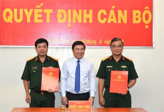 Kiện toàn nhân sự Ban Chấp hành, Ban Thường vụ Đảng ủy Quân sự TPHCM       ảnh 3