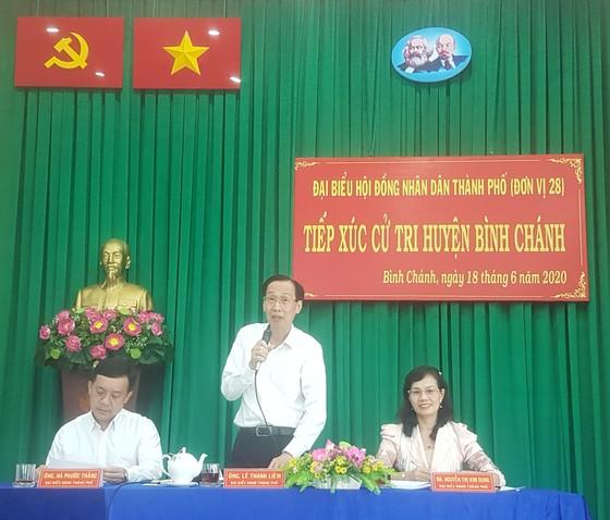 Cử tri huyện Bình Chánh kiến nghị điều chỉnh quy hoạch tại nhiều khu vực     ảnh 1