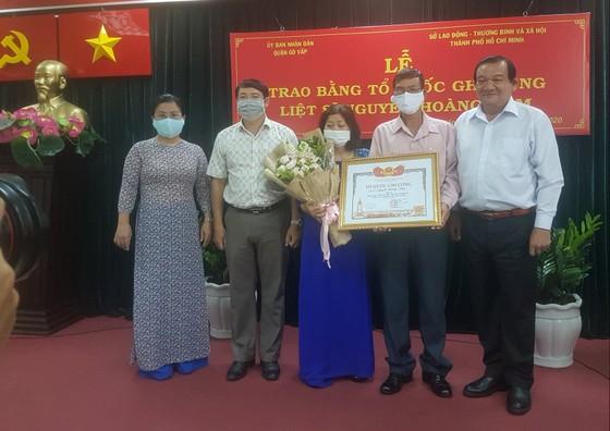 Cấp bằng Tổ quốc ghi công cho liệt sĩ 'hiệp sĩ' Nguyễn Hoàng Nam ảnh 6