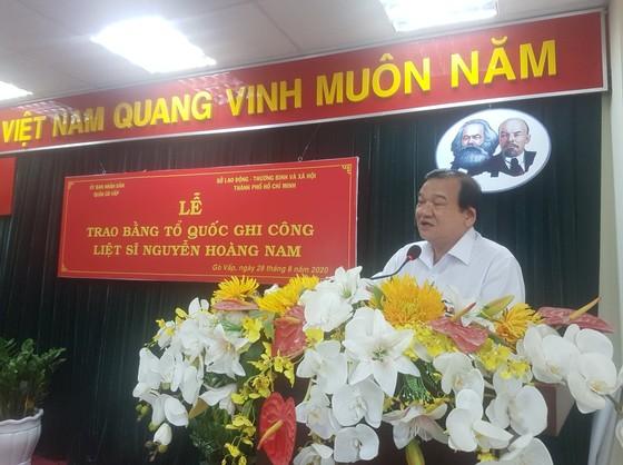 Cấp bằng Tổ quốc ghi công cho liệt sĩ 'hiệp sĩ' Nguyễn Hoàng Nam ảnh 5