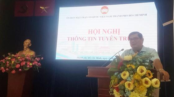 TPHCM Ra mắt biểu trưng 90 năm thành lập MTTQ Việt Nam  ảnh 1