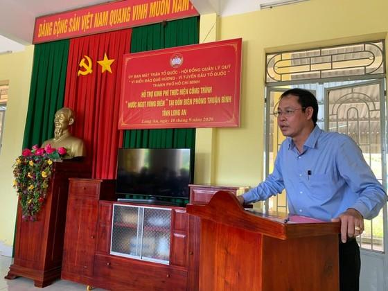 TPHCM thăm, tặng quà lực lượng biên phòng tỉnh Long An tham gia phòng chống dịch Covid-19 ảnh 1