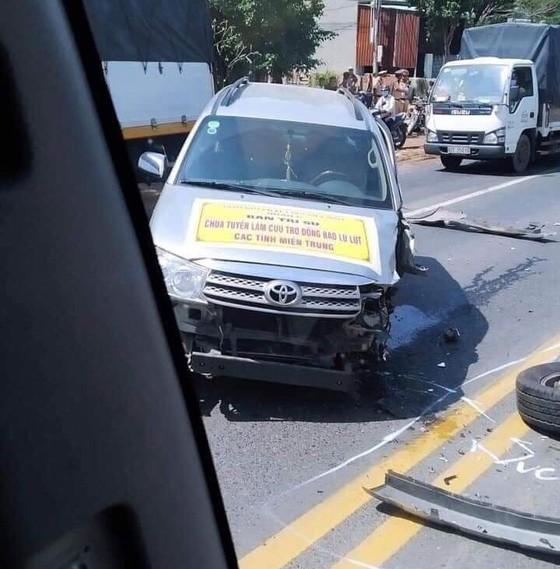 Đoàn cứu trợ của Giáo hội Phật giáo Việt Nam quận 6 gặp tai nạn giao thông, một người tử vong ảnh 1