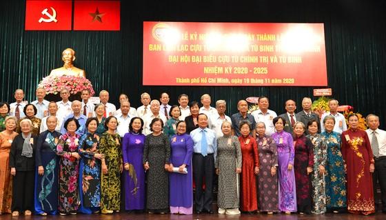 Kỷ niệm 20 năm thành lập và Đại hội đại biểu Cựu tù chính trị - tù binh TPHCM ảnh 1