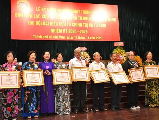 Kỷ niệm 20 năm thành lập và Đại hội đại biểu Cựu tù chính trị - tù binh TPHCM ảnh 4