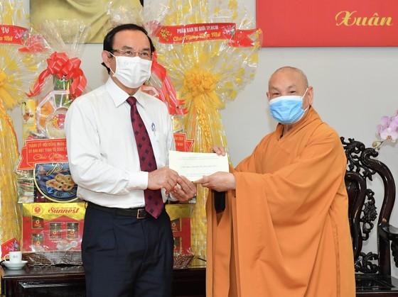 Đoàn lãnh đạo TPHCM thăm, chúc mừng năm mới các vị chức sắc tôn giáo  ảnh 1