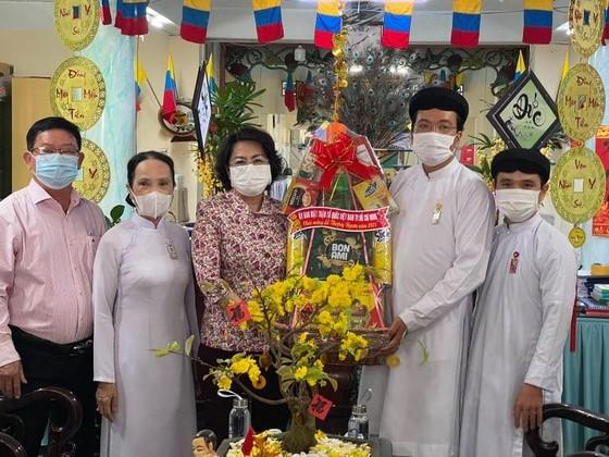 Ủy ban MTTQ Việt Nam TPHCM thăm, chúc mừng Lễ Thượng Ngươn, Tân Sửu  ảnh 1