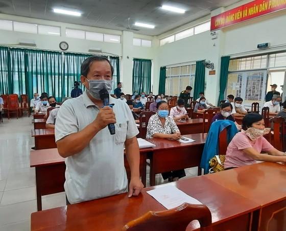 Cử tri quận 12 và Gò Vấp đánh giá cao chương trình hành động của các ứng cử viên đại biểu Quốc hội Khóa XV ảnh 3