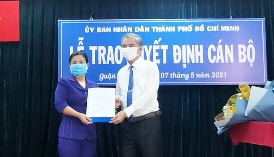 Ông Nguyễn Trí Dũng giữ chức vụ Chủ tịch UBND quận Gò Vấp      ảnh 3