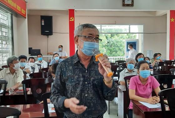 Chương trình hành động của các ứng cử viên đại biểu HĐND TPHCM bám sát với yêu cầu phát triển     ảnh 2