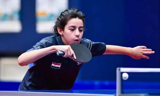 Tập luyện bóng bàn từ khi 5 tuổi, Hend Zaza vô địch các giải đấu quốc gia ở mọi lứa tuổi cô bé tham gia