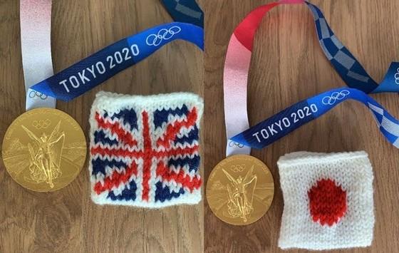 Nhà vô địch nhảy cầu Olympic khoe biệt tài đan len ảnh 1