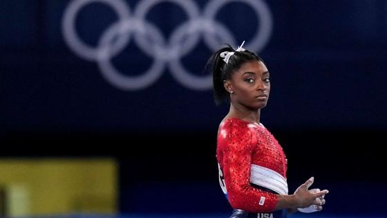 Simone Biles từng giành 4 HCV tại Olympic Rio